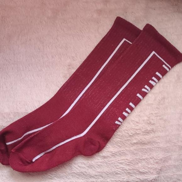 PINK by VS knee-high socks